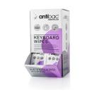 Rens ANTIBAC tastatur våtservietter (80)