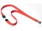 Halssnor DURABLE med klype Rød (10)