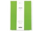 Skrivebok GRIEG Trend A5 Linjert 192 sider Grønn