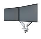 Skjermarm KENSON Twin Gasslift LCD Sølv