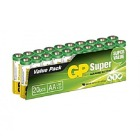 Batteri GP Super Alk AA / LR6  (20)