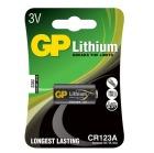 Batteri GP CR123 3V Lithium Foto