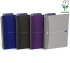 Notatbok OXFORD Essentials B5 DOT Punkt linjert, ass farger