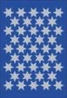 Etikett HERMA dekor stjerner sølv