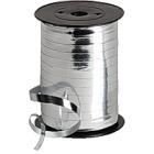 Gavebånd Metallic Sølv 10mm x 250m B600184