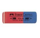 Viskelær FABER-CASTELL 7070 rød/blå