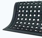 Avlastningsmatte Comfort Flow nitril 83x140cm Sort
