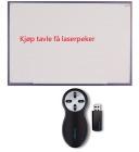 Esselte Whiteboardtavle 120x200cm + Laserpeker Remote