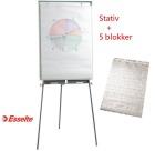 Flippoverstativ Esselte - inkl. 5 blokker gratis