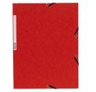Strikkmappe A4 3 klaffer rød