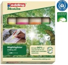 Tekstmarker Edding 24 4 farger (4) 4447000