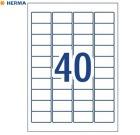 Etikett AVERY ex sterk A4 45,7x25,4 (800)