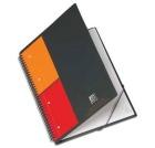 Notatbok OXFORD International Meetingbook A4 Linjert, ass farger