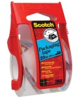 Emballasjetape Scotch 50mmx20m m/dispenser Klar