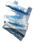 Avfallssekk Returplast Klar m/knyting  85x160cm 240 liter 50my (10)