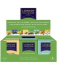 Te LONDON grønn te/urte/ fruktsmak, mørk grønn (80)