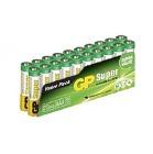 Batteri GP Super Alk AAA / LR3 (20)