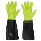 Aqua fiskeri-hanske, fl.grønn, granulert, 45 cm ***