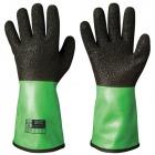 Skjære- og kjemikaliebestandige vinyl-/PVC-hansker