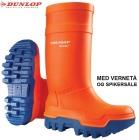 Vernestøvel Dunlop Thermo+ Oransj
