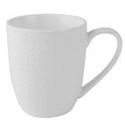Kaffekopp Porselen Victoria hvit 17cl