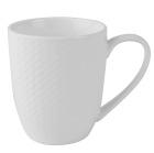 Kaffekopp Porselen Victoria hvit 28cl