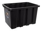 Oppbevaringsboks 55 liter STRONGBOX sort