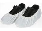 """Skoovertrekk Hvit farge CPE-plast 65my str 40,5cm 16"""" (1000)"""