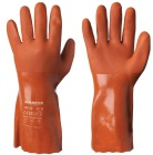 Flex vinylhanske Rød (sømløst fór) 30 cm