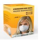 Støvmaske m/ventil P2 (10)
