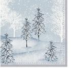Serviett DUNI 3-lag 24cm Winter (50)