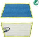 Mopp 25cm Mikrofiber m/borrelås Glass-/metall UNIQ Duotex®