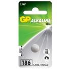 Batteri GP Alkalisk 186-C1/LR43/LR1142