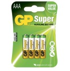 Batteri GP Alkalisk Peak Power AAA LR3 (4)