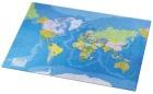 Skriveunderlag 40x65cm verdenskart