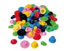 Plasthatt ass. farger og størrelser (96)