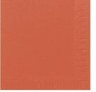 Serviett DUNI 3-lag 24cm Mandarin (250) 168404