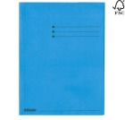 Klaffmappe ESSELTE A4 m/3 klaffer 250g Blå papp 44224