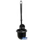 Toalettbørste m/veggholder MISS CLEAN G90 Sort