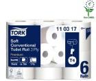 Toalettpapir TORK Premium T4 3-lag 35m pr rull (42) 110317