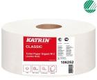 Toalettpapir KATRIN Gigant M Classic 340m 2-lag (6) 10625-2