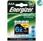 Oppladbare Batteri ENERGIZER Extreme AAA 800mAh (4)