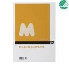 Millimeterpapir Emo A4 80g 50 blad