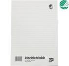 Kladdeblokk EMO A4 Linjert 60g 100 blad