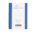 Skrivebok GRIEG Trend A7 Linjert 128 sider Blå