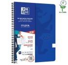 Notatbok OXFORD Touch A4+ 90g blå linjer