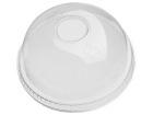 Lokk høyt m/hull for PET Plastglass 95mm (50) 114813