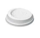 Lokk for termobeger 25cl (100) hvit