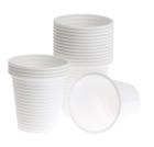 Plastglass 12,5cl myk hvit antistatisk (4400) 902310-02