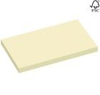 Notatblokk selvklebende  STAPLES 127x76mm gul